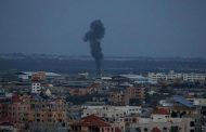 اسرائیل کے غزہ میں حماس کی تنصیبات پر فضائی حملے