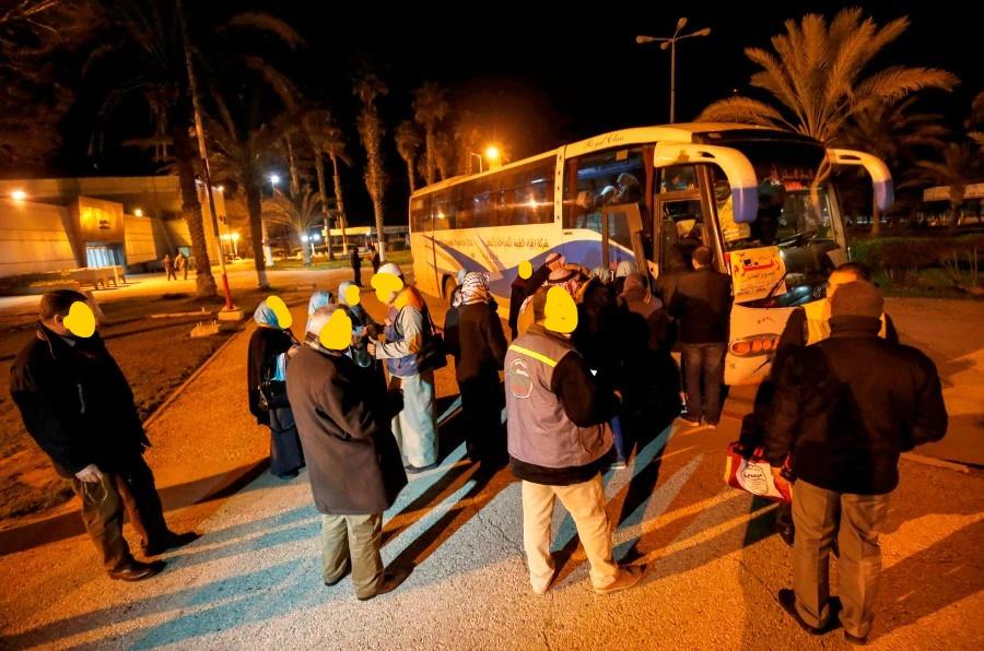 غزہ سے عازمین عمرہ کا  قافلہ حجاز مقدس روانہ