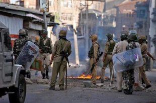 کشمیر میں بھارتی فورسزکو شدید مزاحمت کا سامنا
