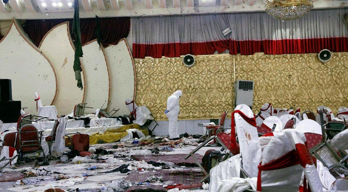 دارالحکومت کابل افغانستان میں شادی کی تقریب میں دھماکہ، 63 افراد ہلاک