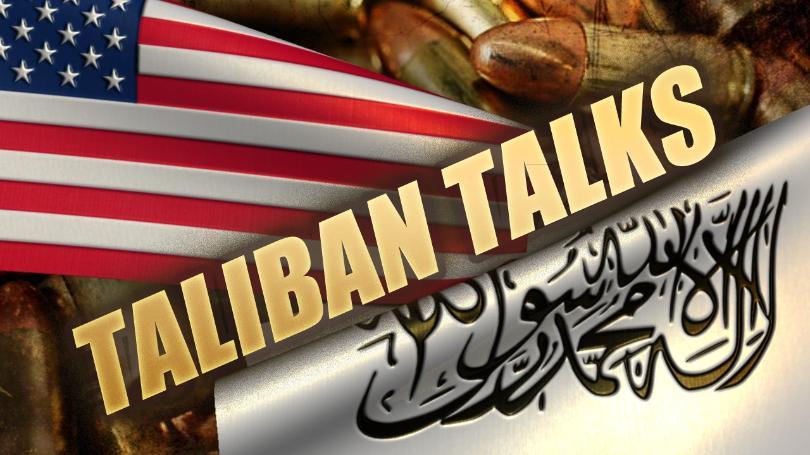 امارت اسلامیہ کے وفد کی امریکی نمائندہ خصوصی زلمے خلیل زاد سے ملاقات