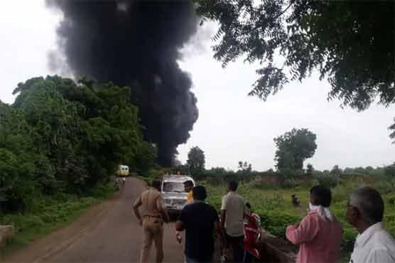 بھارت کے مغربی علاقے میں ایک کیمیکل فیکٹری میں بم دھماکے سے 13 افراد ہلاک