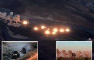 امریکی جنگی جہازوں نے عراق میں داعش کے زیر قبضہ جزیرے پر 40 ٹن وزنی بم گرا دیئے