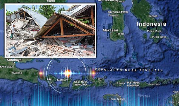 انڈونیشیا میں زلزلے سے 22 افراد جان بحق