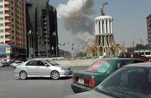 دارالحکومت کابل میں این ڈی ایس کے قریب ہوئے بم دھماکے میں کم از کم دس افراد ہلاک اور تین غیر ملکی فوجی ہلاک
