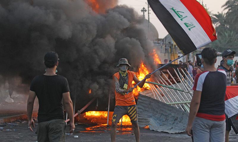 بغداد کے مشرق میں واقع علاقے الصدر سٹی میں ہونے والی جھڑپوں کے دوران 15 افراد اپنی جانوں سے ہاتھ دھو بیٹھے