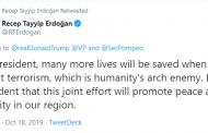 صدر ایردوان کا ٹرمپ کی ٹویٹ پر جواب
