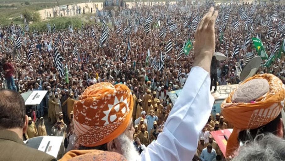 حکمرانوں کو گھر جانا ہوگاآپشن اور کوئی نہیں : مولانا فضل الرحمان