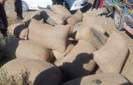 جنوبی وزیرستان میں پولیس کی اہم کاروائی۔ لوٹی گئی 23 بوریاں چلغوزہ برآمد۔