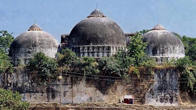 بھارتی سپریم کورٹ کا بابری مسجد کی جگہ مندر تعمیر کرنے کا حکم