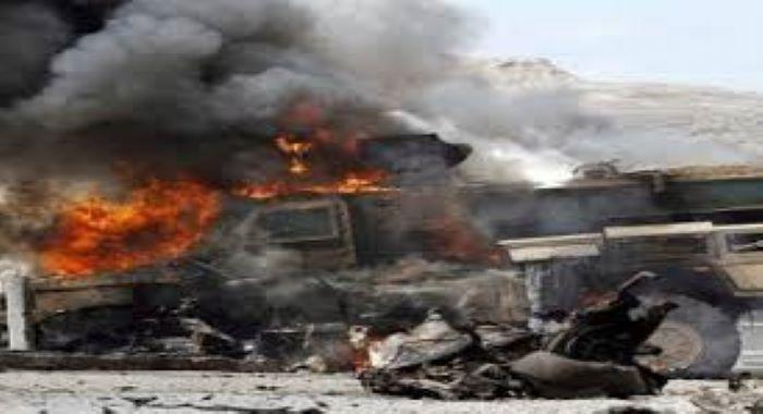 صوبہ قندوز میں امریکی قافلے پر حملہ 2 امریکی ہلاک زبیح اللہ مجاھد