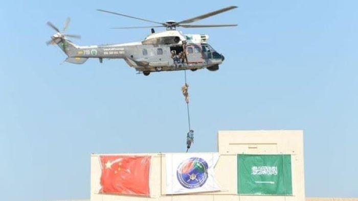 سعودی عرب اور چین  کے اشتراک سے ہونے والی السیف الارزق بحری فوجی مشقیں اختتام پذیر