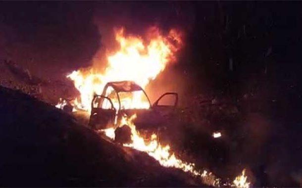 کوئٹہ : بس اور وین میں خوفناک تصادم,آگ لگنے سے 12 افراد جاں بحق