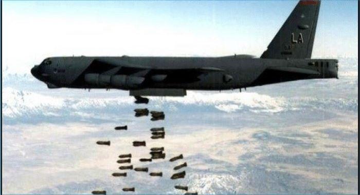 امریکی بمباری، بچوں وخواتین سمیت 12 شہری شہید وزخمی