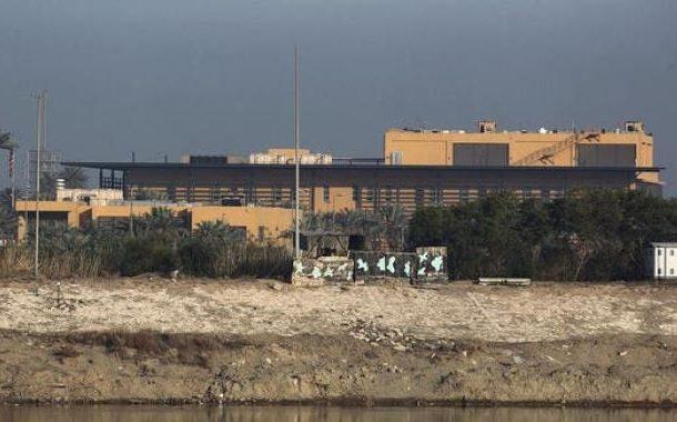 عراق : امریکی سفارت خانے کے نزدیک پانچ راکٹ آ گرے