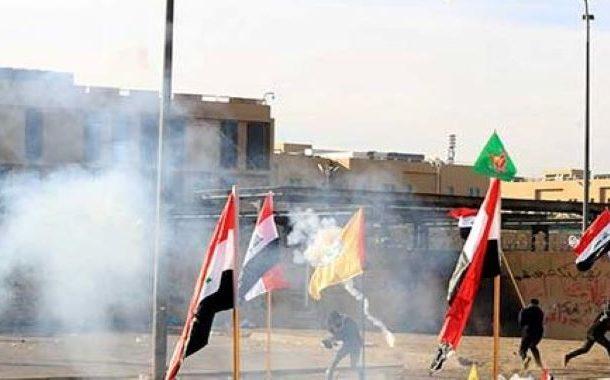 عراق: پر تشدد احتجاج کا سلسلہ پھر شروع