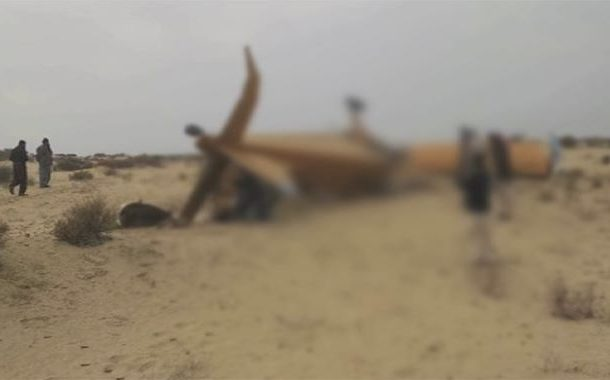 صادق آباد: ٹڈی دل سپرے کے دوران چھوٹا طیارہ گر کر تباہ، 2 پائلٹ جاں بحق
