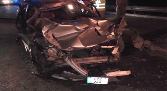 فیصل آبادامین پور بنگلہ انٹرچینج پر ٹریفک حادثہ، خاتون سمیت 3 افراد جاں بحق