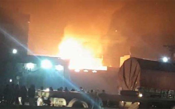 لاہور فیروزوالا: سلنڈر دھماکے سے فیکٹری میں آتشزدگی، 8 افراد جاں بحق