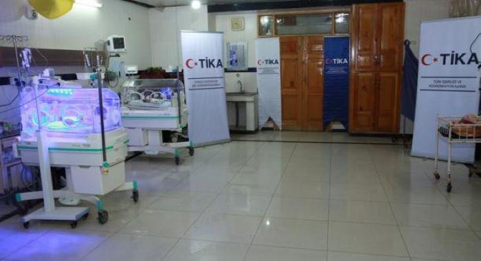 ترک ادارہ براۓتعاون و باہمی روابط(تیکا)کاپشاورکےخیبر ٹیچنگ ہسپتال کوجدید طبِّی سازوسامان کا عطیہ