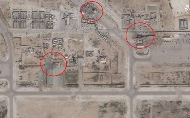 امریکی اڈوں پر ایرانی حملے کی سیٹلائٹ تصاویر جاری