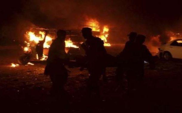 پشاوردھماکے سے لرز اٹھا، شہادتوں کا خدشہ