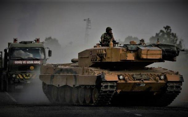 ترکی کا بڑا فوجی قافلہ شام کے صوبے اِدلب میں داخل