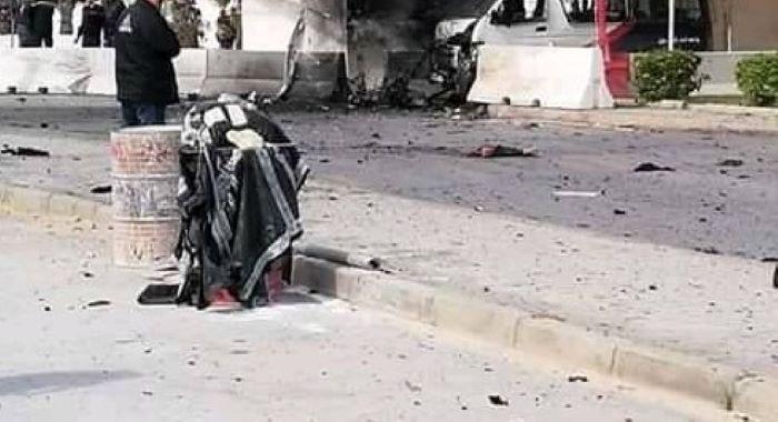 امریکی سفارت خانے کے قریب خود کش بم حملہ