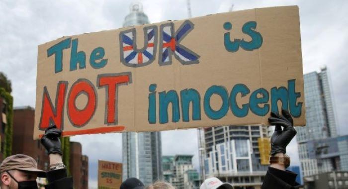 پرامن مظاہروں کو غنڈہ گردی کی بھینٹ چڑھانے والوں کو جوابدہ ٹھہرایا جائے گا۔ بورس جانسن