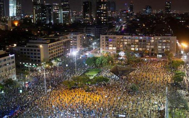 نیتن مخالف ریلی پر کریکڈائون، 55 مظاہرین گرفتار