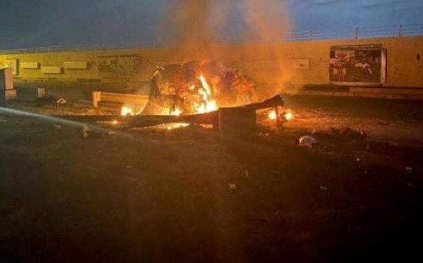 بغداد ائیرپورٹ کے نزدیک راکٹ حملہ
