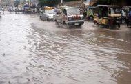 کراچی: بارش کے بعد کراچی میں ندی نالے بپھر گئے ، دو افراد جان بحق